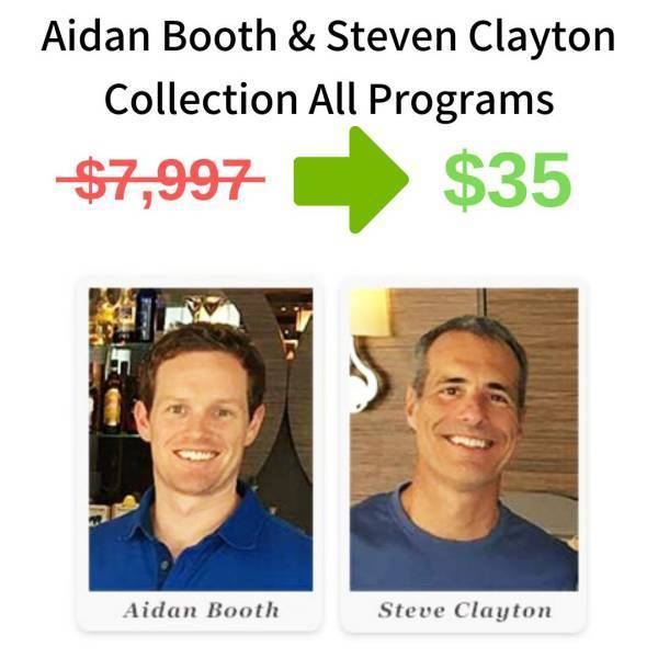 Aidan Booth And Steve Clayton Collection - All Programs FREE DOWNLOAD