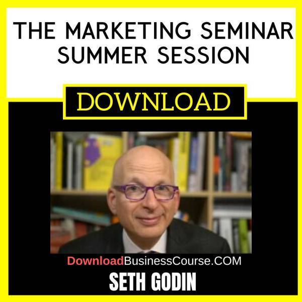 Seth Godin The Marketing Seminar Summer Session FREE DOWNLOAD