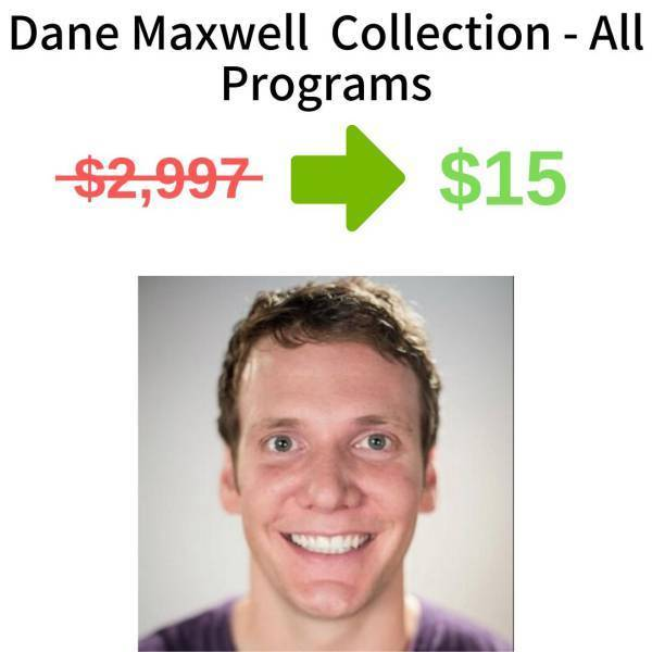 Dane Maxwell Collection - All Programs FREE DOWNLOAD