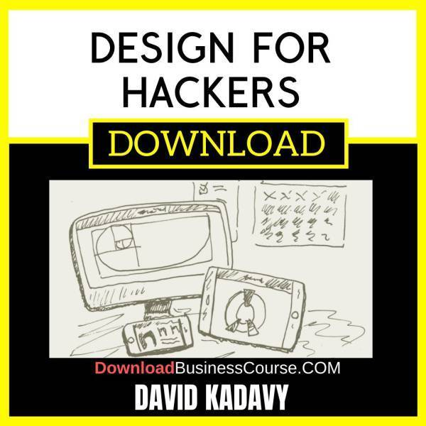 David Kadavy Design For Hackers FREE DOWNLOAD