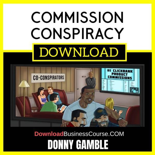 Donny Gamble Commission Conspiracy FREE DOWNLOAD