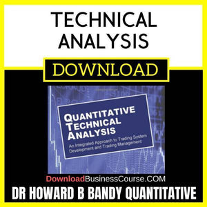 Dr Howard B Bandy Quantitative Technical Analysis FREE DOWNLOAD