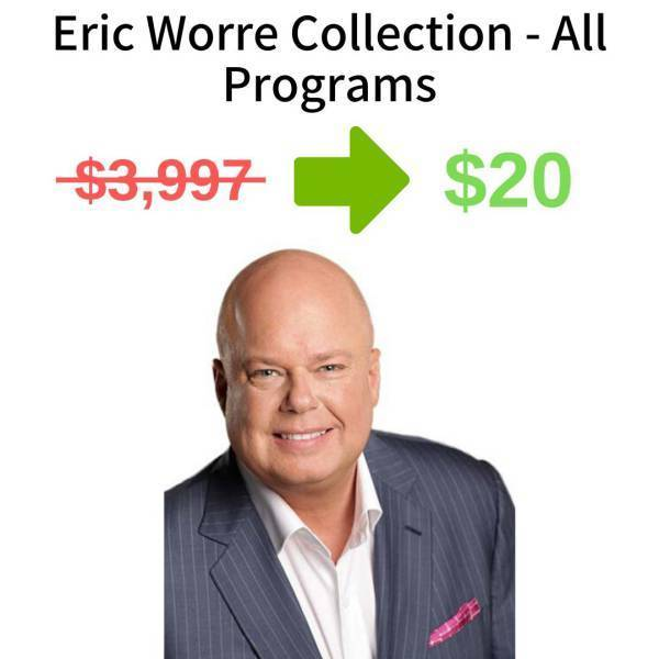 Eric Worre Collection - All Programs FREE DOWNLOAD