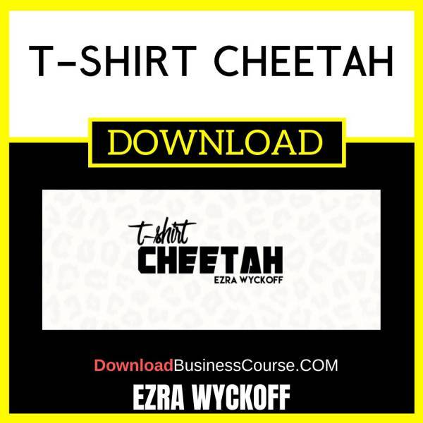 Ezra Wyckoff T-Shirt Cheetah FREE DOWNLOAD
