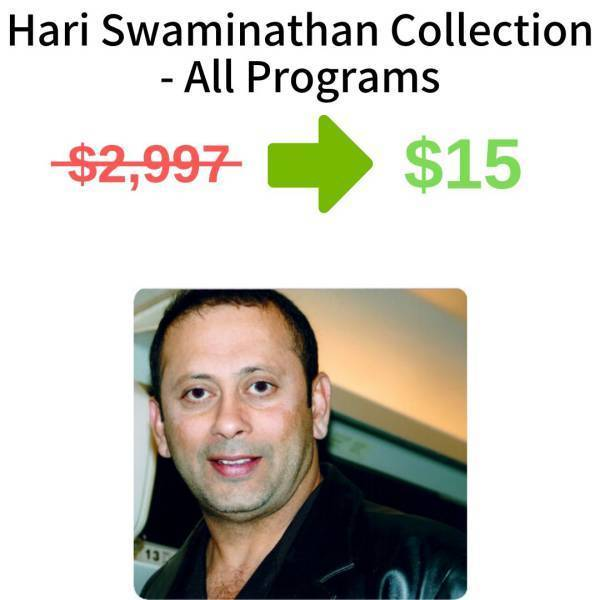 Hari Swaminathan Collection - All Programs FREE DOWNLOAD