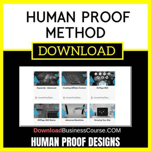 Human Proof Designs Human Proof Method FREE DOWNLOAD