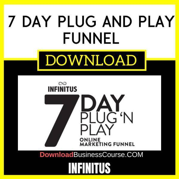 Infinitus 7 Day Plug And Play Funnel FREE DOWNLOAD