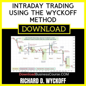 Intraday Trading Using The Wyckoff Method FREE DOWNLOAD