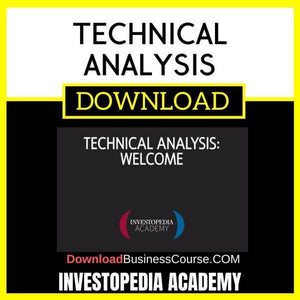 Investopedia Academy Technical Analysis FREE DOWNLOAD