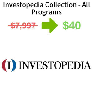 Investopedia Collection - All Programs FREE DOWNLOAD