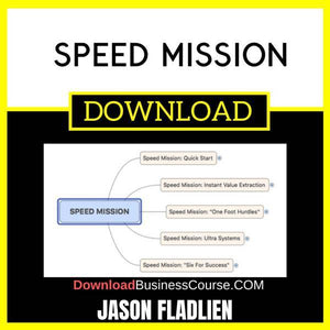 Jason Fladlien Speed Mission FREE DOWNLOAD