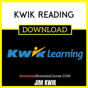 Jim Kwik Kwik Reading FREE DOWNLOAD