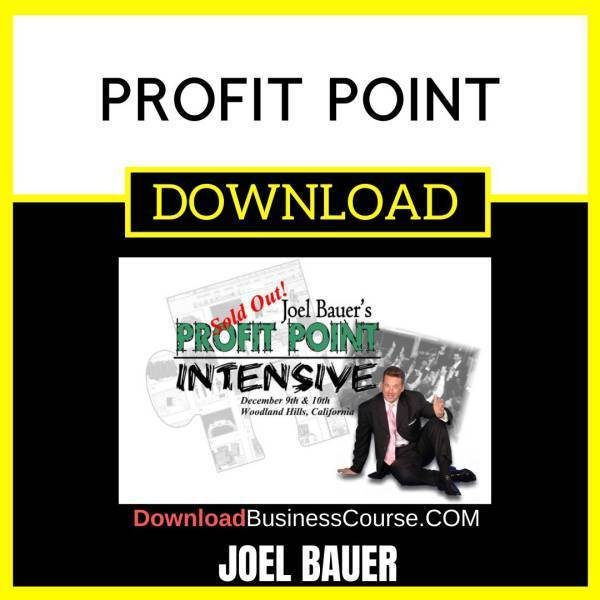 Joel Bauer Profit Point FREE DOWNLOAD