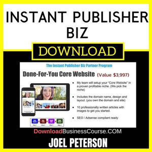 Joel Peterson Instant Publisher Biz FREE DOWNLOAD