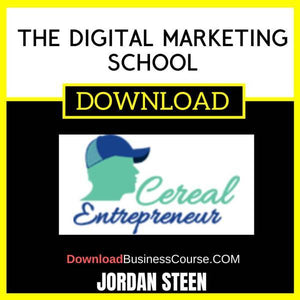 Jordan Steen The Digital Marketing School FREE DOWNLOAD
