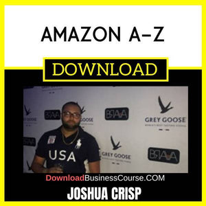 Joshua Crisp Amazon A-Z FREE DOWNLOAD