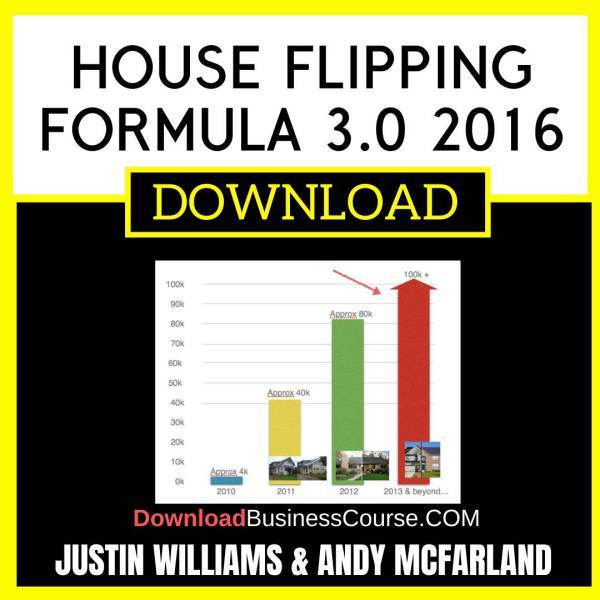 Justin Williams And Andy Mcfarland House Flipping Formula 3.0 2016 FREE DOWNLOAD