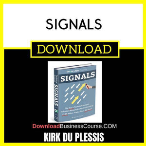 Kirk Du Plessis Signals FREE DOWNLOAD