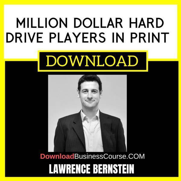 Lawrence Bernstein Million Dollar Hard Drive Players In Print FREE DOWNLOAD