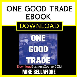 Mike Bellafiore One Good Trade Ebook FREE DOWNLOAD