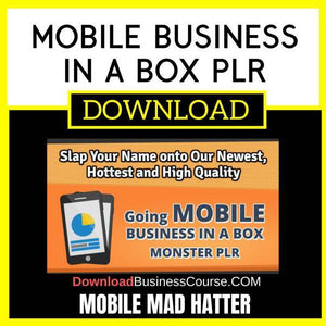 Mobile Business In A Box Plr FREE DOWNLOAD