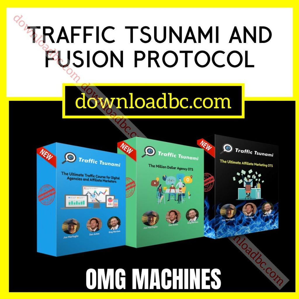 OMG Machines Traffic Tsunami and Fusion Protocol free download