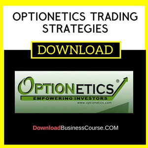 Optionetics Trading Strategies FREE DOWNLOAD