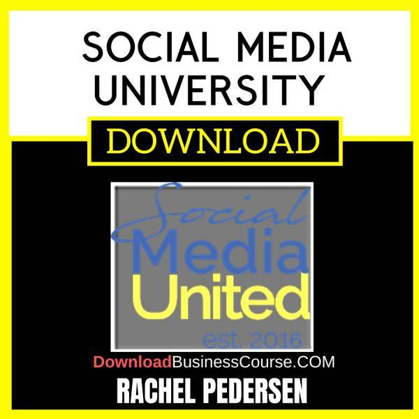 Rachel Pedersen Social Media University FREE DOWNLOAD