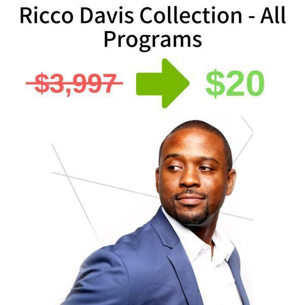 Ricco Davis Collection - All Programs FREE DOWNLOAD