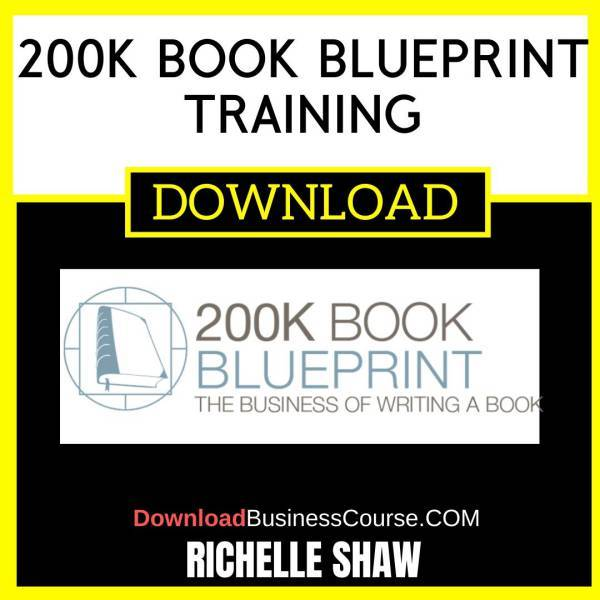 Richelle Shaw 200k Book Blueprint Training FREE DOWNLOAD