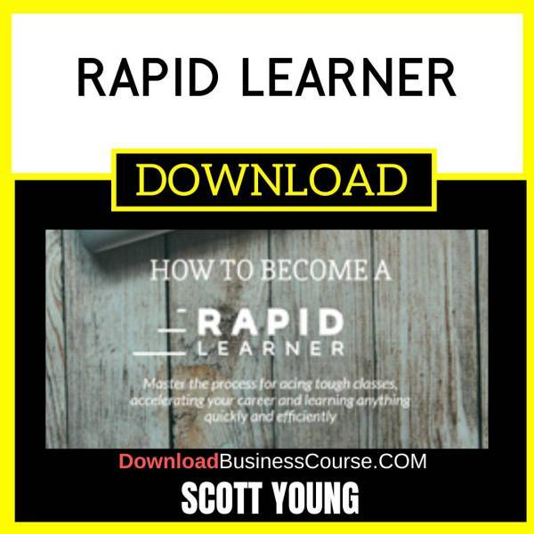 Scott Young Rapid Learner FREE DOWNLOAD