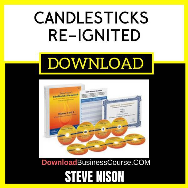 Steve Nison Candlesticks Re Ignited FREE DOWNLOAD