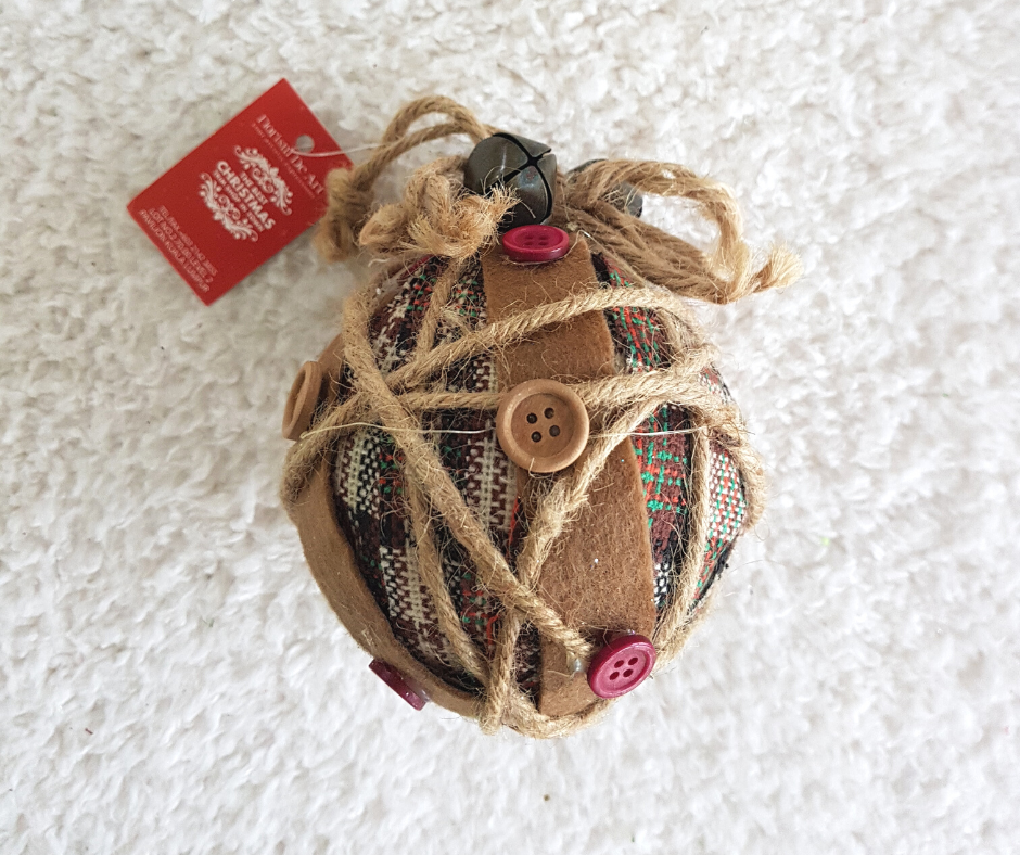 9'' Brown Christmas Ball Ornaments