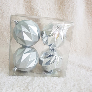 Christmas Ball 70mm 4pcs/Box, Buy 1 Free 1