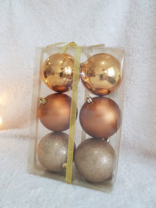 Christmas Ball 80mm 6pcs/Box, Buy 1 Free 1