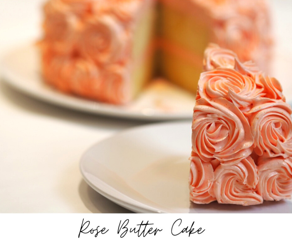 Rose Butter With French Butter Cream