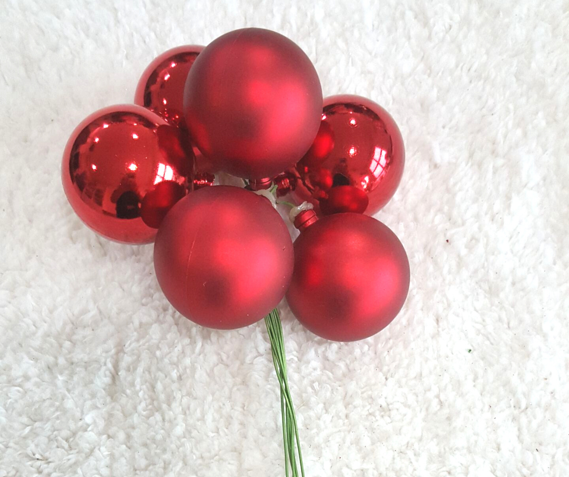 6 in 1 Christmas Ball 40mm