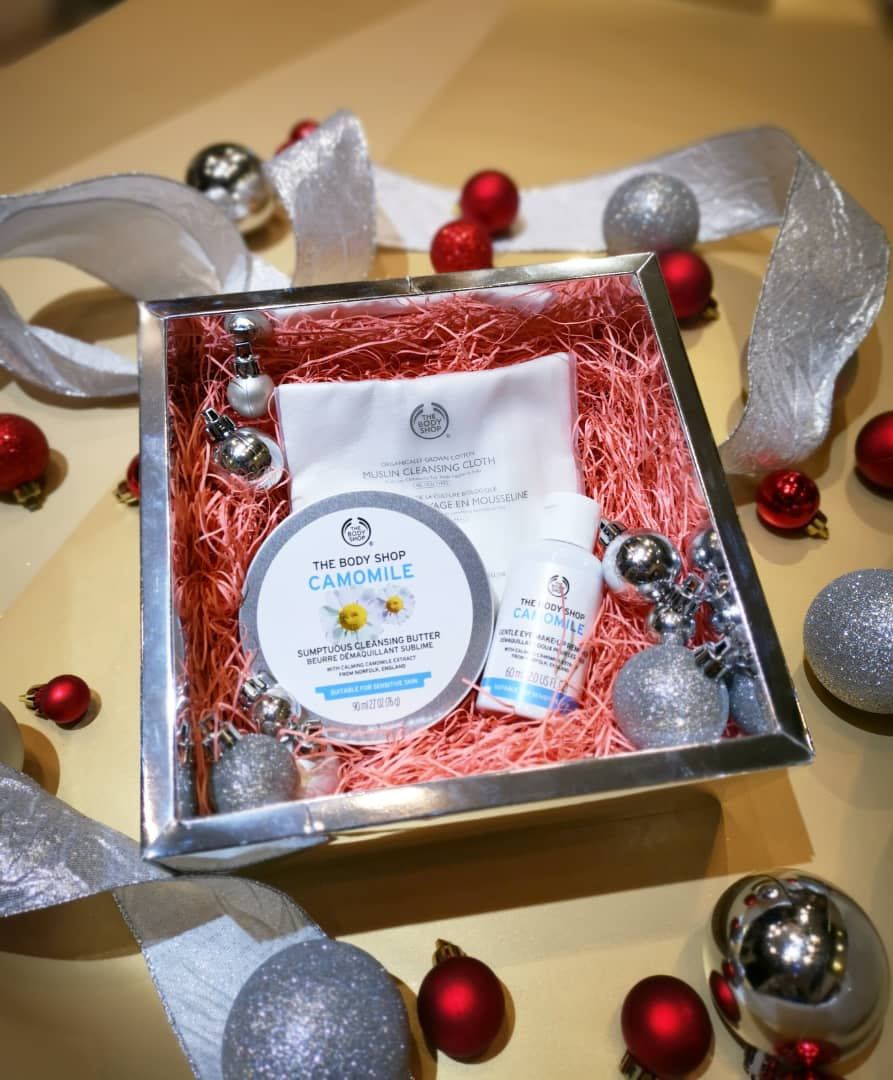Calming Camomile Gentle Cleanse Kit Gift Set | The Body Shop