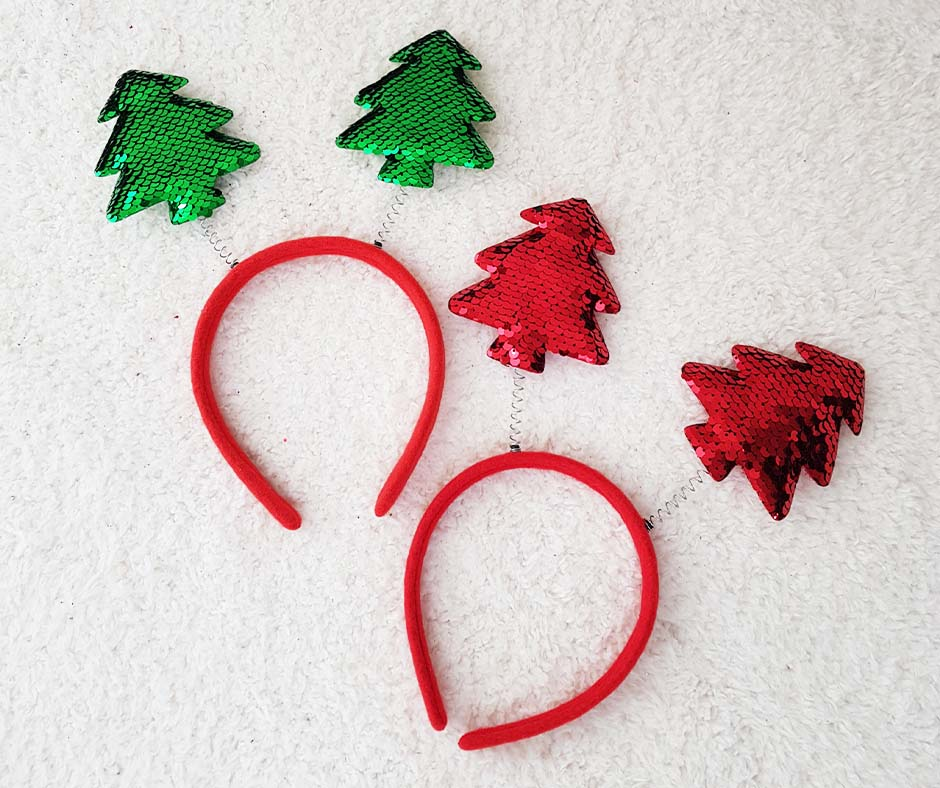Christmas Tree Head Band