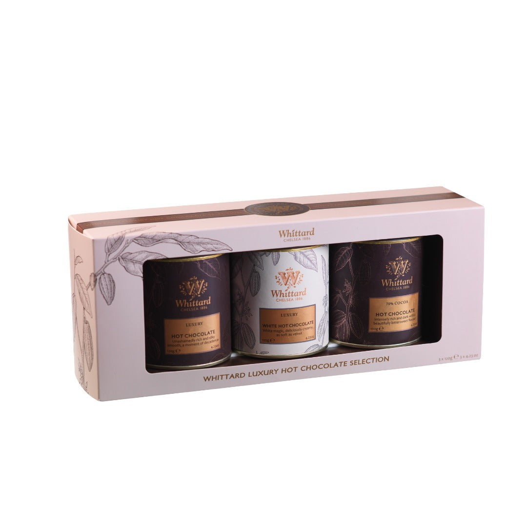 Premium Tea & Hot Chocolate Set & Castania - Royal Gift Collection