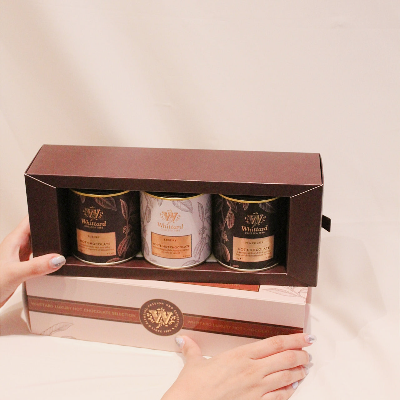 Luxury Hot Chocolate Selection 120g x 3 | Whittard of Chelsea