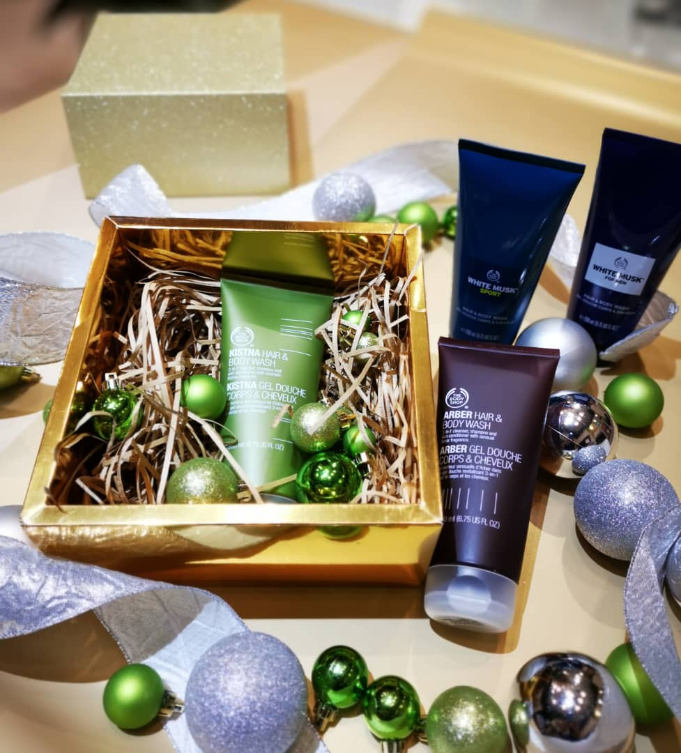 Hair & Body Wash for Men Gift Set | The Body Shop