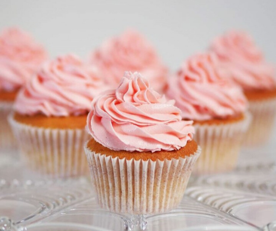 Rose Butter With French Butter Cream Cupcake