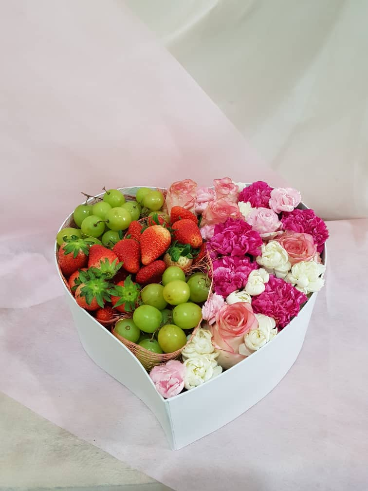 The Mother's Day Heart Shape Fruits