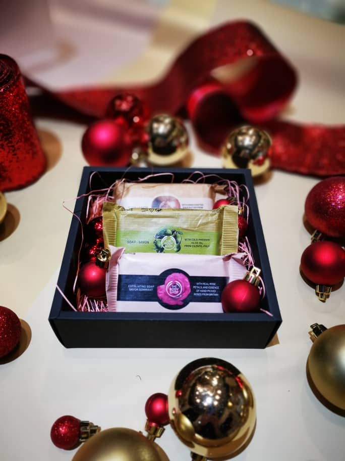 British Rose, Shea, Olive Soap Gift Set | The Body Shop