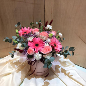 Pink Geberra | Hand Bouquet| Mother Day Special