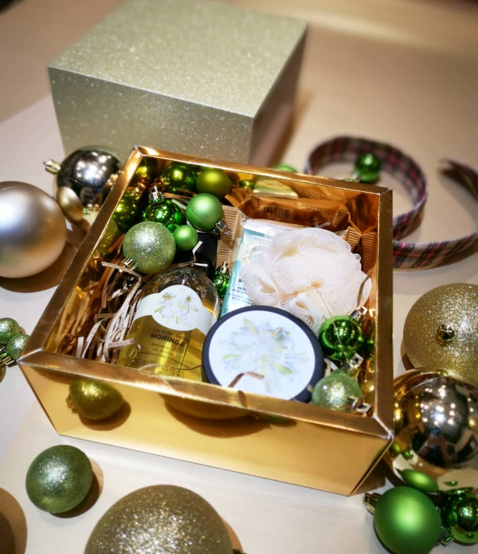 Moringa Pampering Essential  Gift Set | The Body Shop
