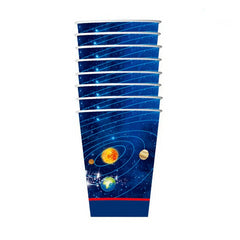 Solar System Outer Space Paper Cups