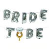 Bridal To Be Balloon Silver Banner - spreeparty