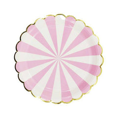 Baby Shower Pink Plate